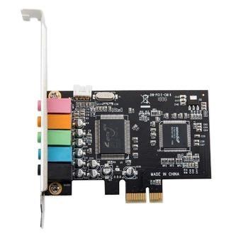 کارت صدا اینترنال 5.1 کاناله PCIe