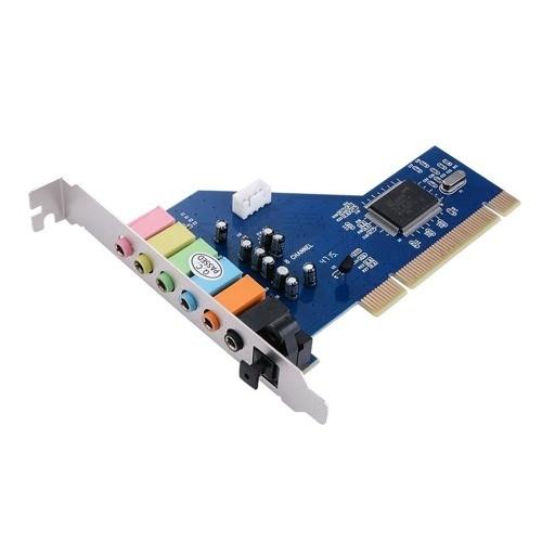 کارت صدا اینترنال 7 کاناله PCI با خروجی اپتیکال