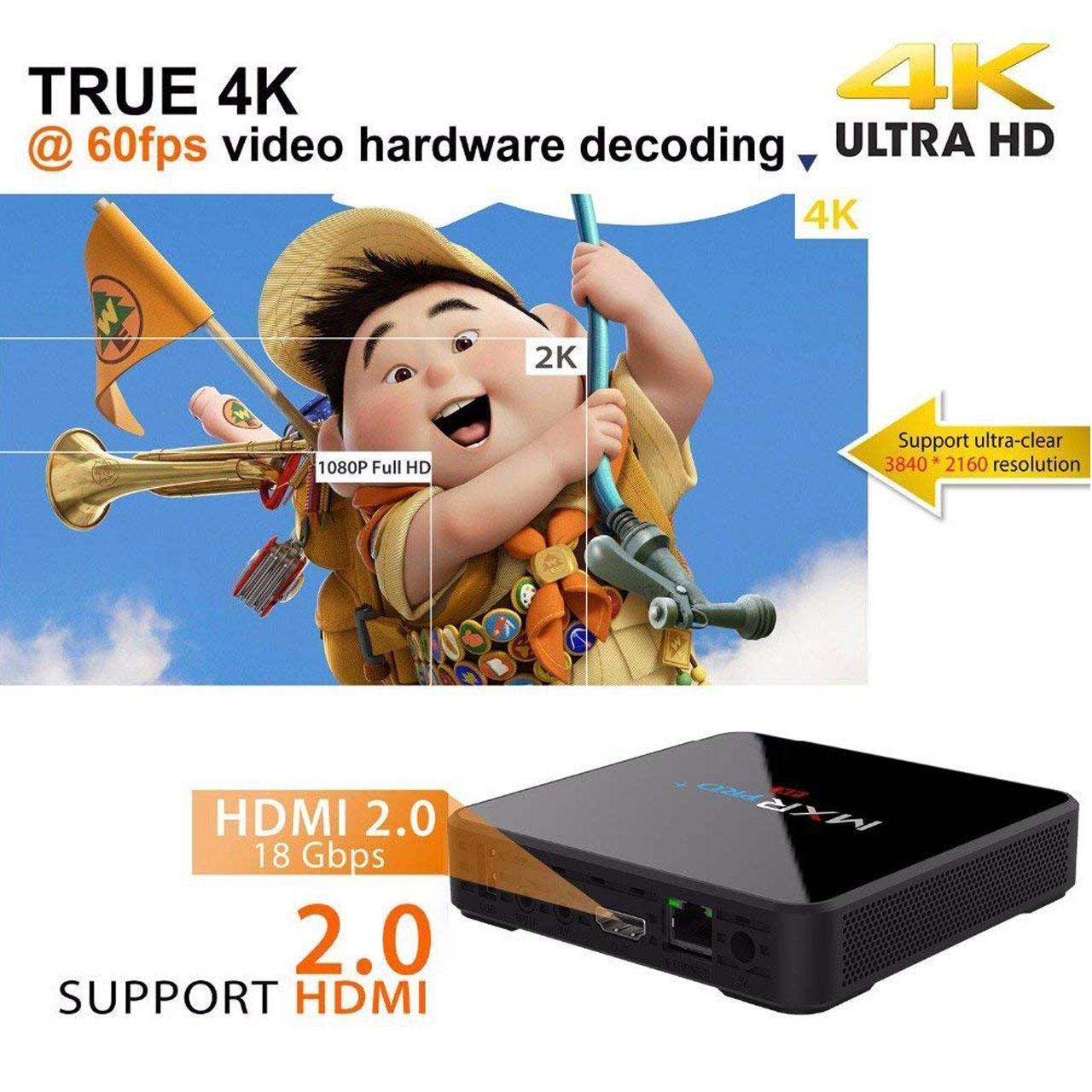مینی کامپیوتر اندروید MXR Pro 4K