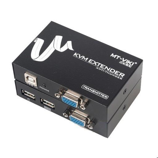 دستگاه افزایش طول 100 متری VGA و USB مدل MT-ED-100UK