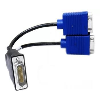 کابل تبدیل 59 پین DVI به دو پورت VGA