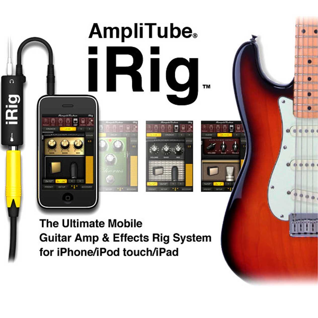 رابط اتصال گیتار به آیفون - مدل iRig