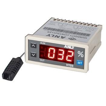 نشان دهنده و کنترل کننده رطوبت همراه با سنسور آنلی ANLY HT03-HS2301