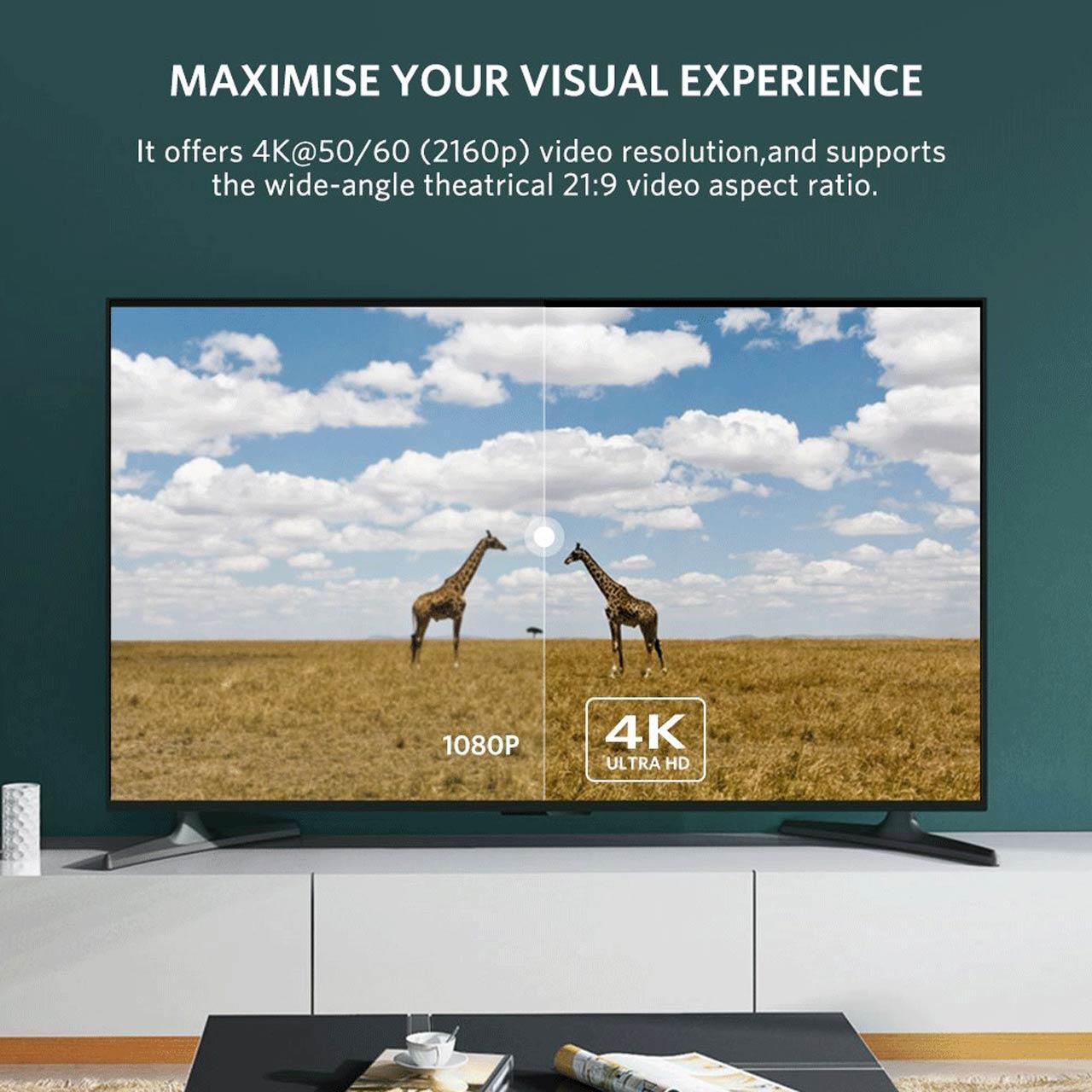 کابل HDMI ورژن 2 فلت مدل JWD-04