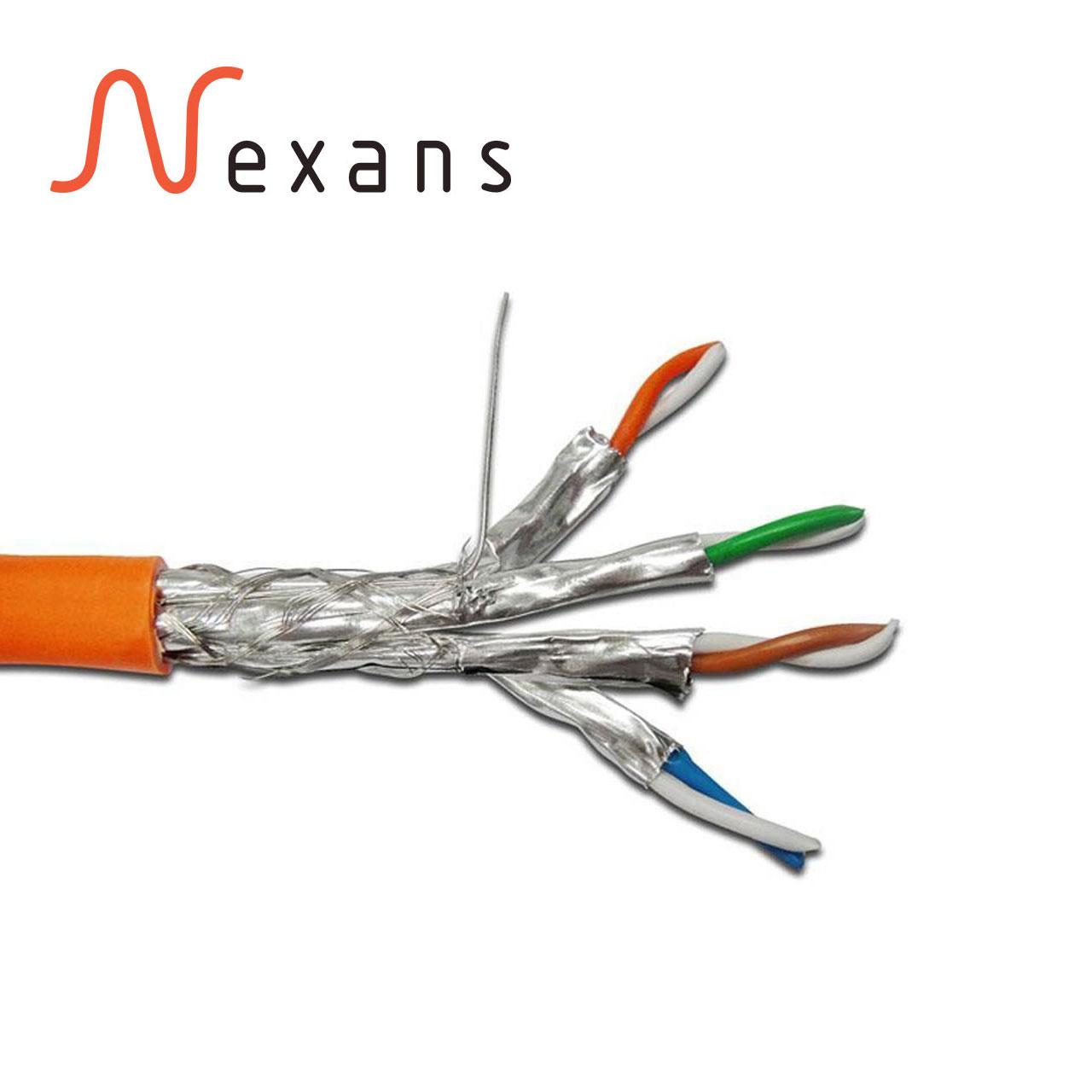 کابل شبکه CAT7 نگزنس Nexans