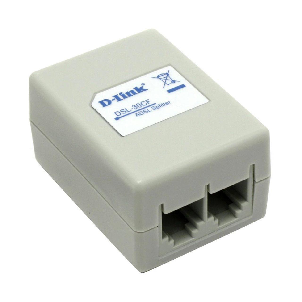 اسپلیتر و نویزگیر مودم ADSL برند D-Iink مدل DSL-30CF
