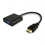 مبدل پورت HDMI به پورت VGA به همراه خروجی صدای AUX