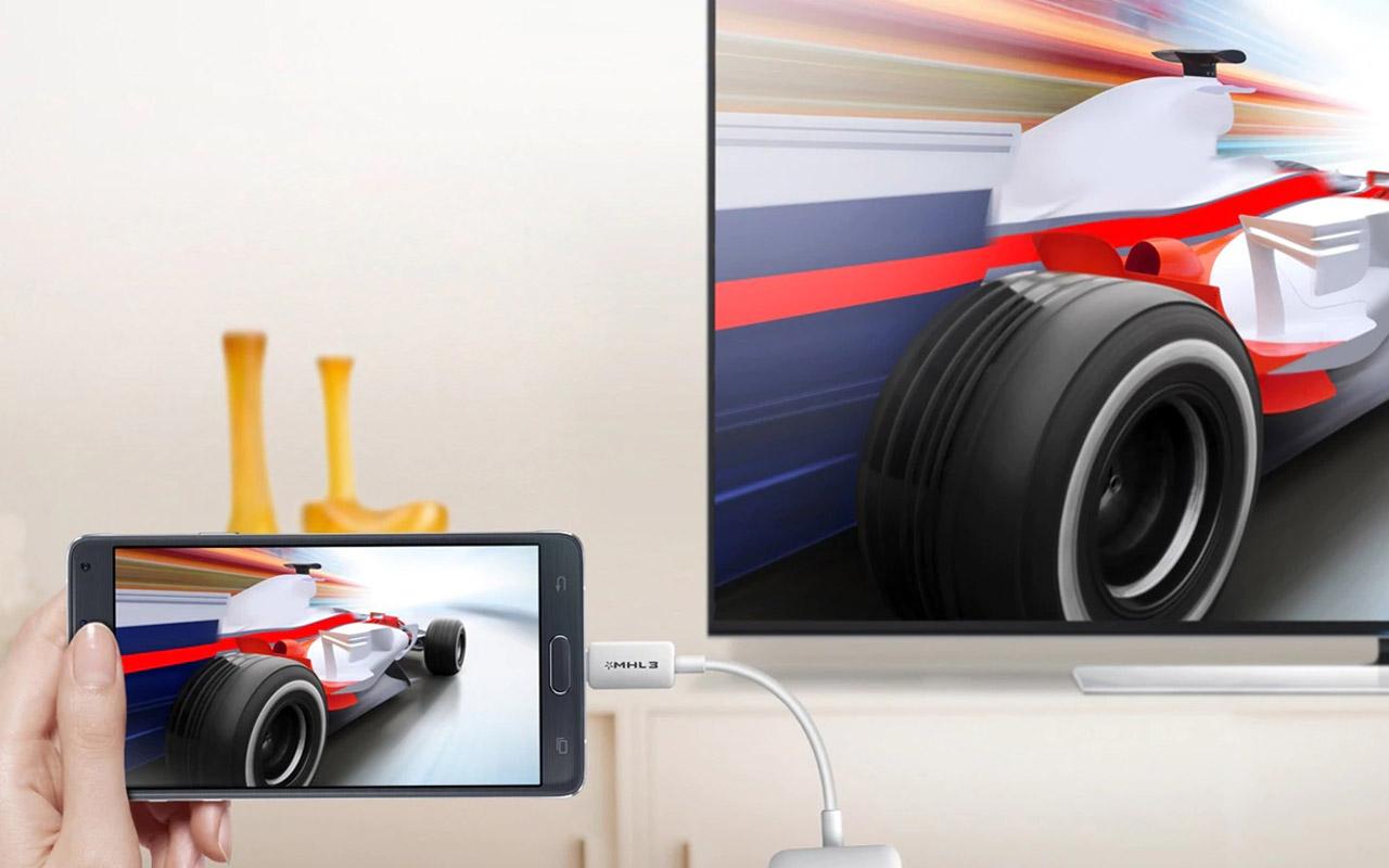 مبدل MHL به HDMI مخصوص گوشی های 11 پین سامسونگ