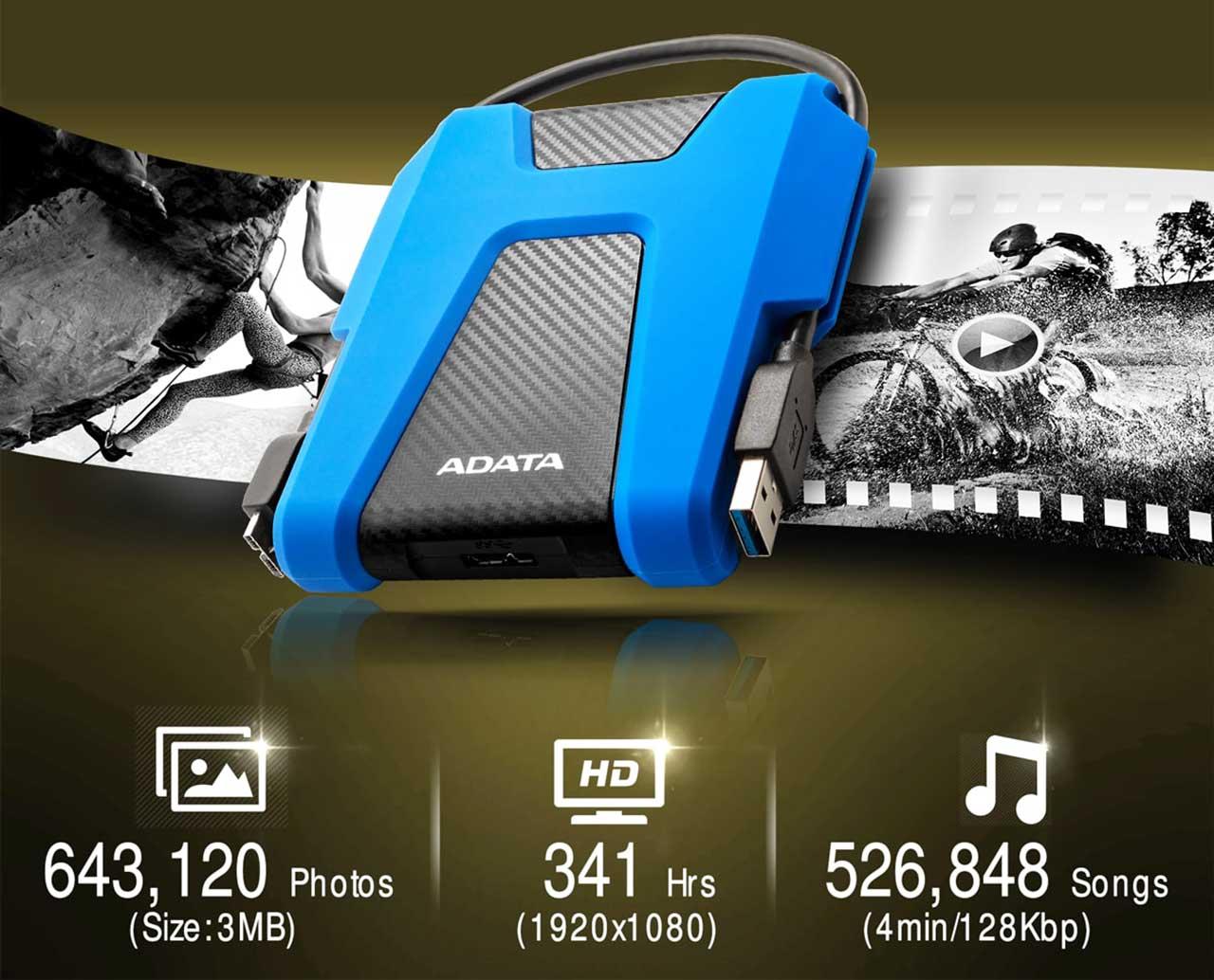 ADATA 2TB External Hard Drive (HDD) HD680