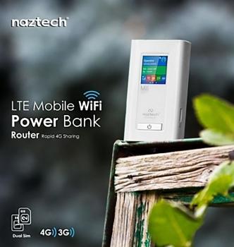 Naztech NZT-99C Portable Wired & Wireless 4G Modem