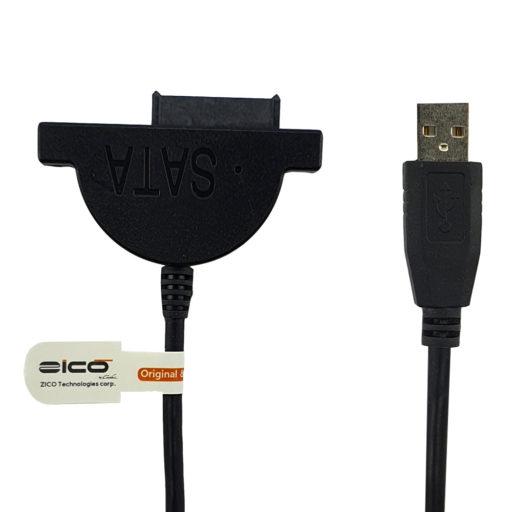 کابل تبدیل USB به DVD-RW لپ تاپ