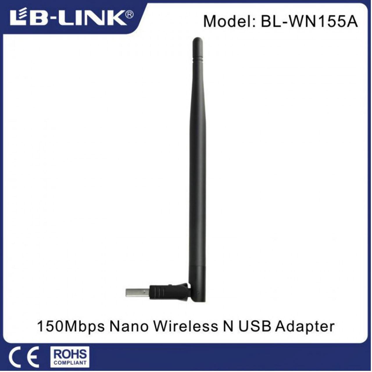 کارت شبکه وایرلس آنتن دار LB-LINK 150Mbps BL-WN155A