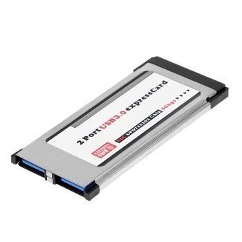 کارت 2 پورت USB 3.0 PCMCIA Express