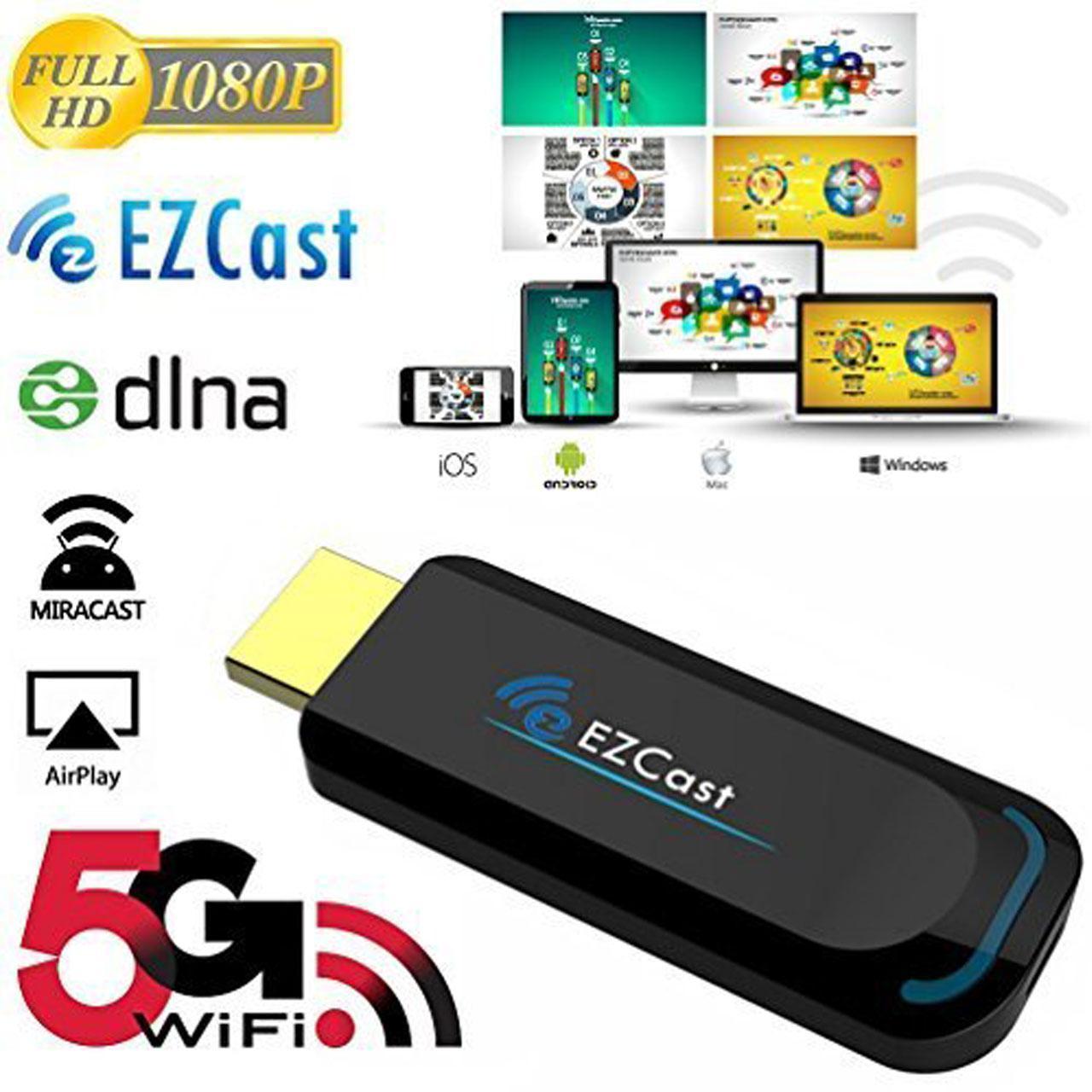 دانگل انتقال تصویر وایرلس EZCAST 5G مدل A1
