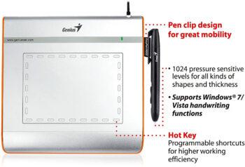 Genius EasyPen i 405X Digital Pen