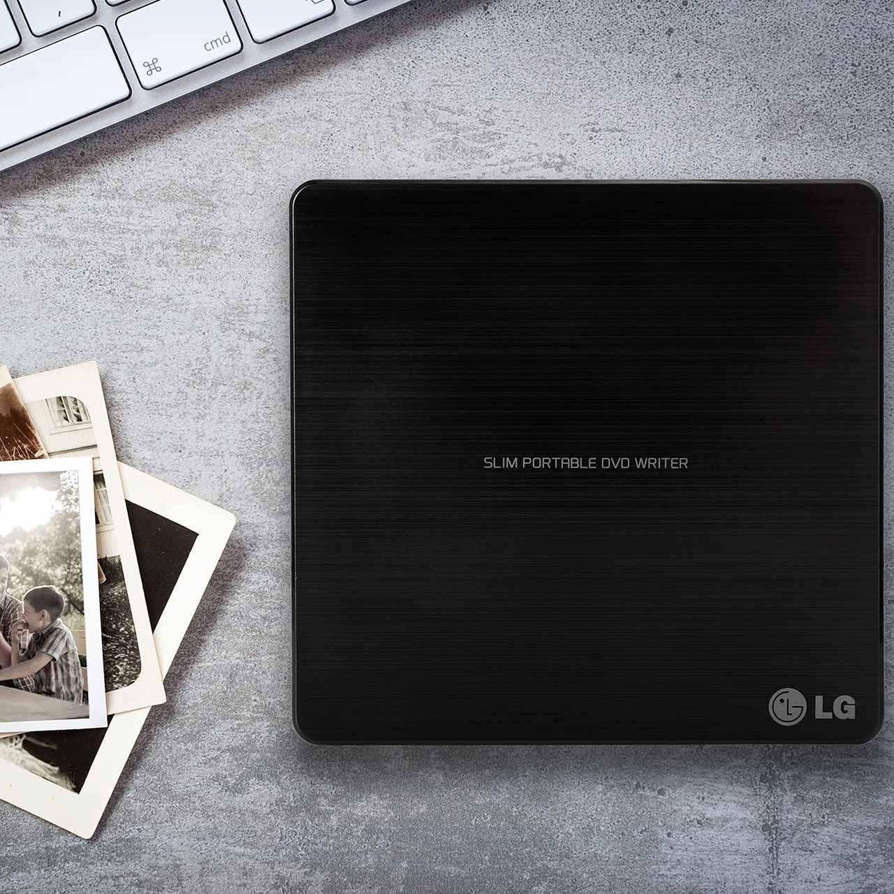 درایو DVD اکسترنال برند LG مدل GP65NB60