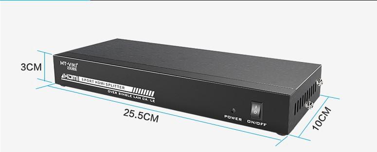 اکستندر 50 متری و اسپلیتر 8 پورت برند MT-VIKI مدل MT-ED108