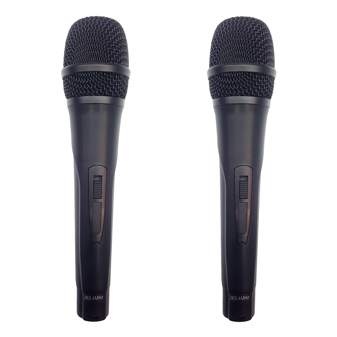 میکروفون بی سیم و کارت صدای حرفه ای Maizuan K2