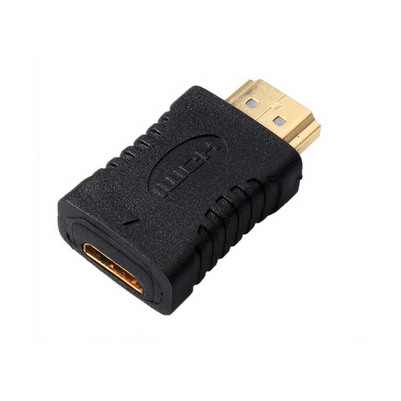 تبدیل مادگی Mini HDMI به سر نری HDMI