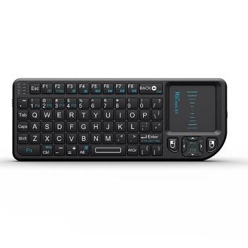 Rii Mini Wireless 2.4GHz Keyboard with Mouse Touchpad Remote Control کیبورد و موس بی سیم کوچک RII X1 مدل RT-MWK01