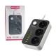 چند راهی برق و شارژر USB برند TSCOمدل TPS 550U