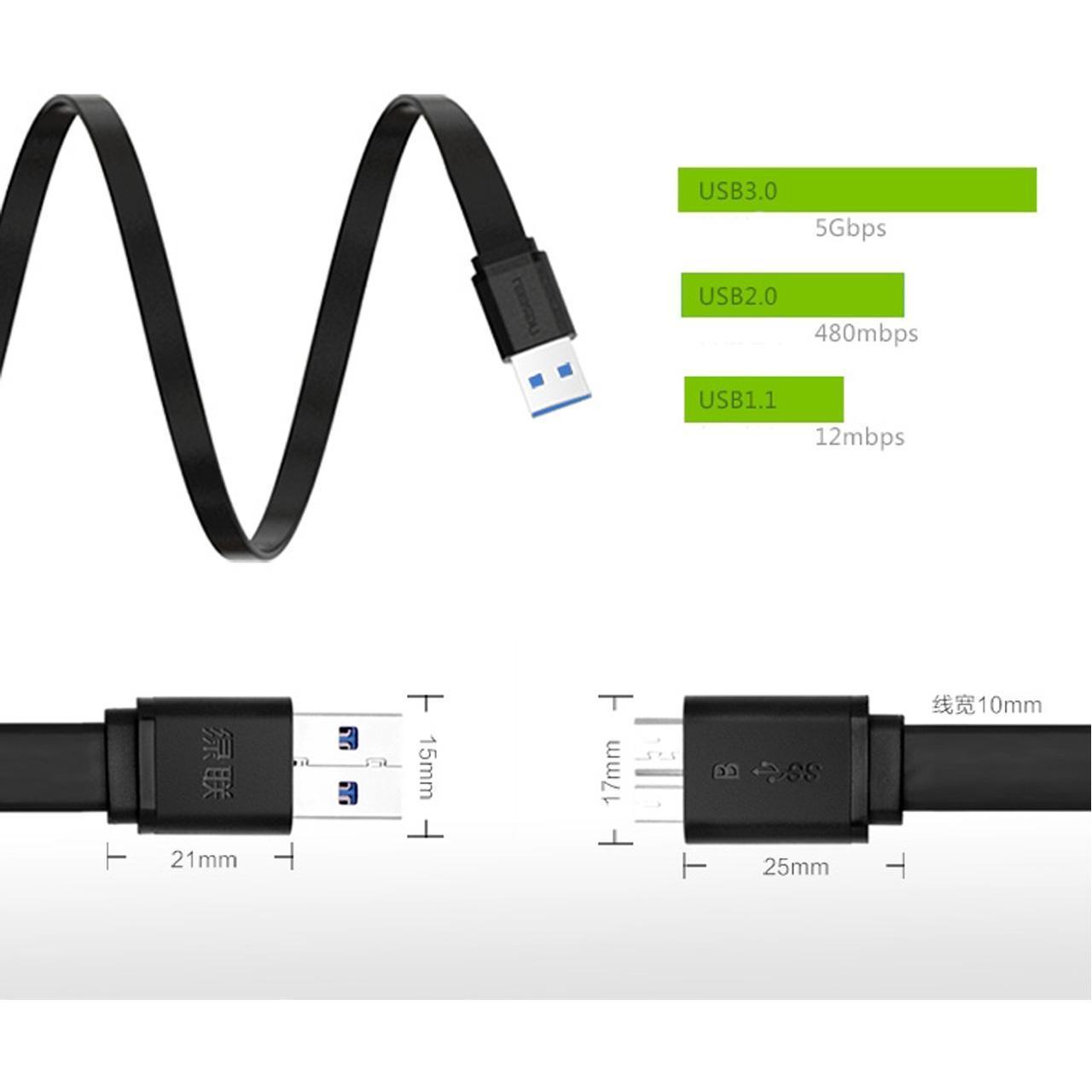 کابل USB 3.0 مارک UGREEN