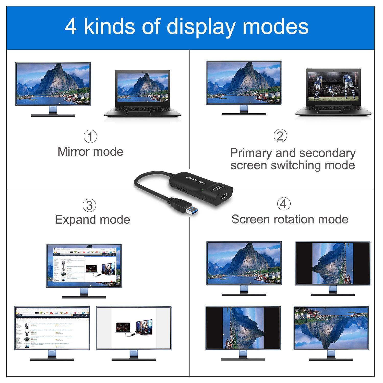 تبدیل USB 3.0 به Display Port ویولینک مدل Wavlink WL-UG5501DP