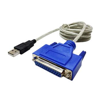 مبدل USB به 25 پین ماده پارالل - مدل P