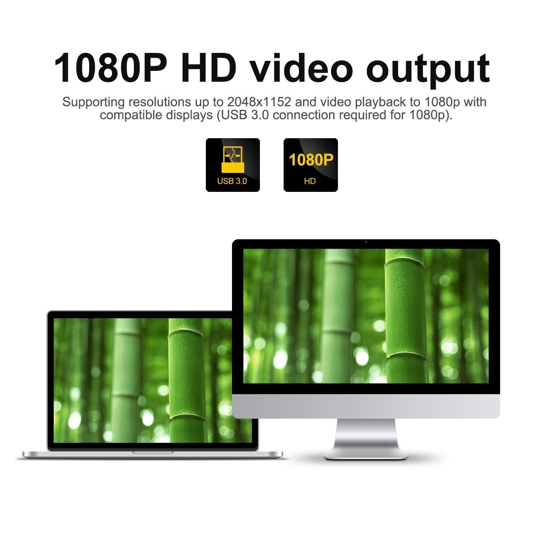 تبدیل USB 3.0 به HDMI گرافیک مجازی برند Wavelink