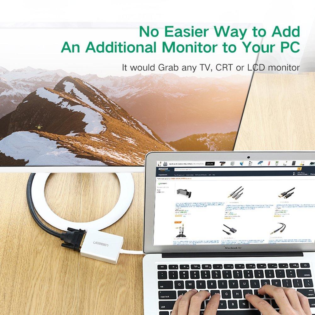 تبدیل USB 3.0 به DVI برند Ugreen مدل 40243