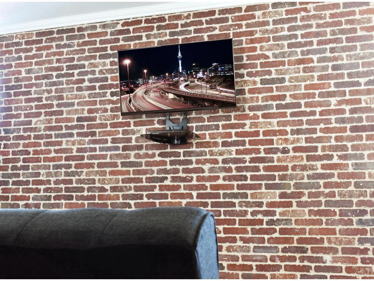 پایه دیواری تلوزیون و نگهدارنده دستگاه DVD مدل VM-M11