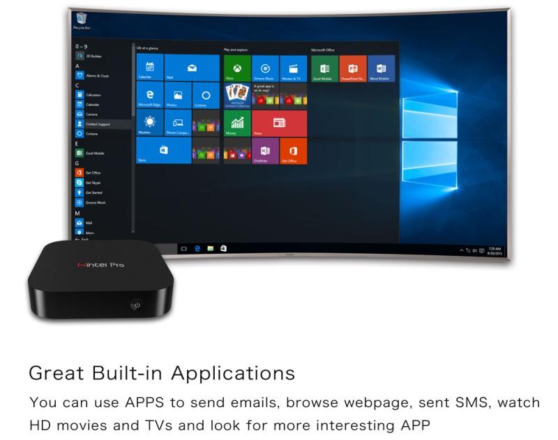 مینی کامپیوتر ویندوزی برند WINTEL مدل W8PRO