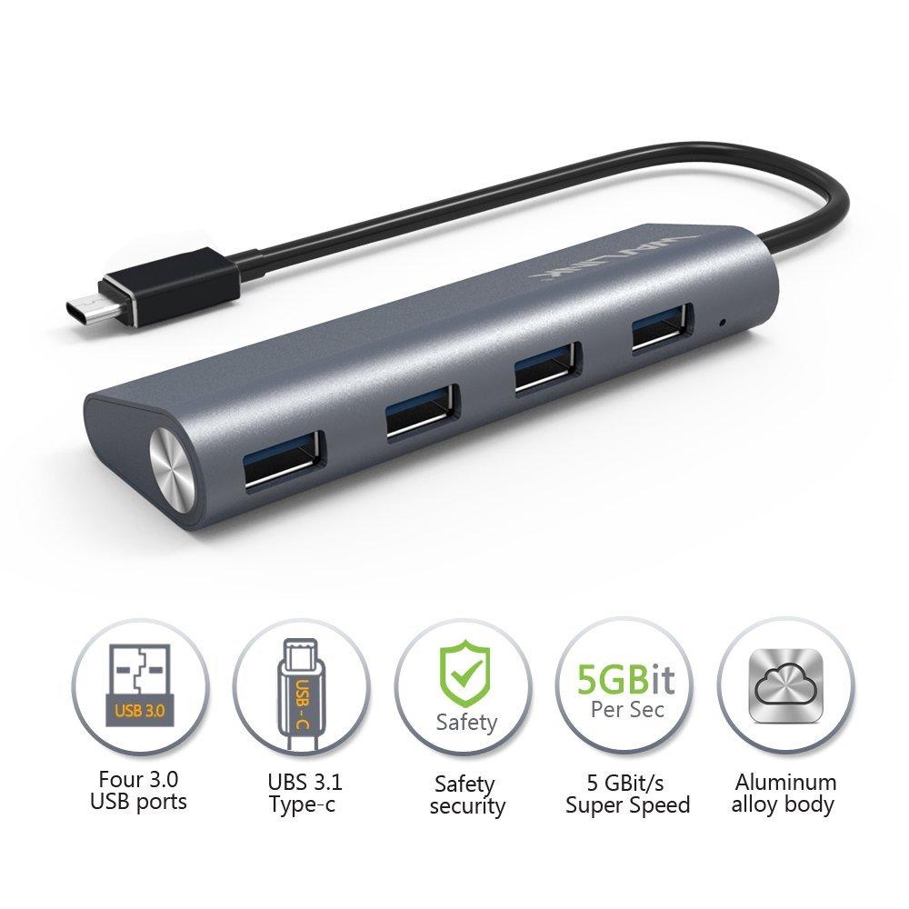 هاب 4 پورت USB -C ویولینک مدل WL-UH3048C