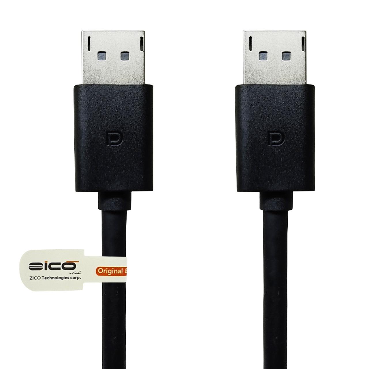 کابل دو سر DisplayPort برند ZICO