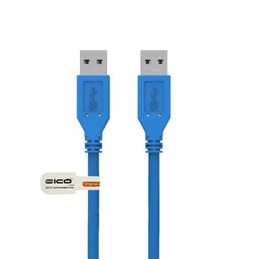 کابل دو سر نر USB 3.0 برند ZICO