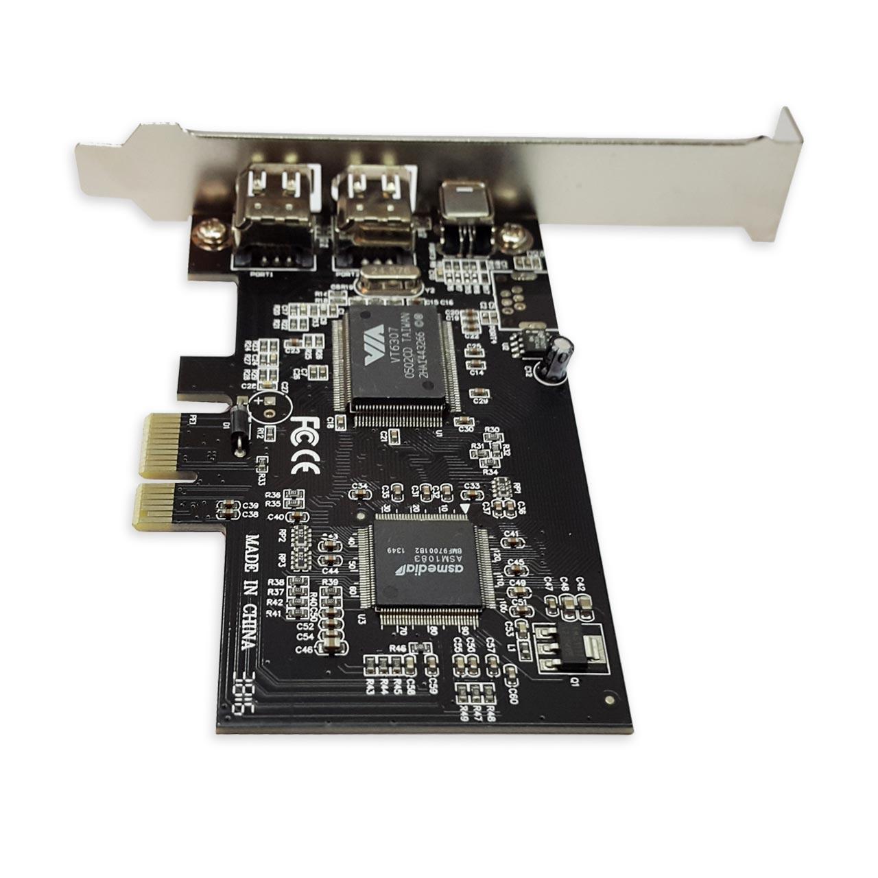 کارت PCI-e 1394 با چیپست VIA